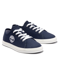 Timberland Junior Newport Bay Canvas Oxford Navy Canvas
