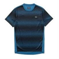 T-Shirt Lacoste Men TH3473 Neottia Black