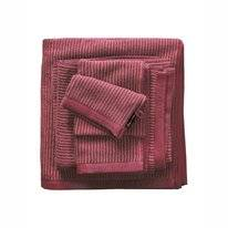 Douchelaken Marc O'Polo Timeless Tone Stripe Deep Rose Warm Red