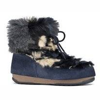 Moon Boot Snowboot  Low Fur Camu-blue