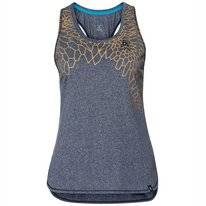Tanktop Odlo Women Baselayer Helle Diving Navy Melange Placed Print