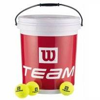 Tennisbal Wilson Trainer 72 S Bucket Yellow