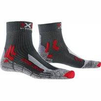 Chaussettes de Randonnée X-Socks Men Trek Outdoor Low Cut Anthracite Red
