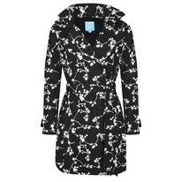 Regenjas Happy Rainy Days Trenchcoat Brisa Blossom Black Off White