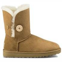 UGG Women Bailey Button II Chestnut