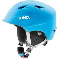 Skihelm Uvex Airwing 2 Pro Liteblue White Mat (Junior)