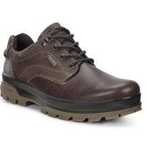 Chaussures ECCO Men Rugged Track Dark Clay Coffee Pull Up Ya