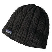 Muts Patagonia Women Cable Beanie Black