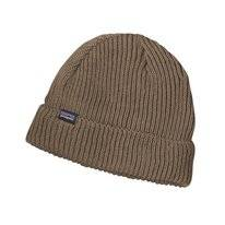 Muts Patagonia Fishermans Rolled Beanie Ash Tan