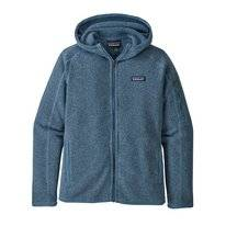 Vest Patagonia Womens Better Sweater Hoody Woolly Blue