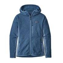 Vest Patagonia Womens Performance Better Sweater Hoody Woolly Blue
