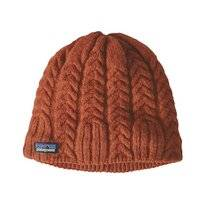Muts Patagonia Women Cable Beanie Sunset Orange