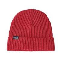 Muts Patagonia Fishermans Rolled Beanie Rincon Red
