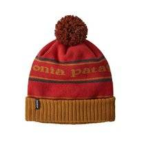 Muts Patagonia Powder Town Beanie Stripe Hammonds Gold