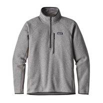 Trui Patagonia Men's Performance Better Sweater 1/4 Zip Feather Grey