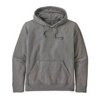Hoodie Patagonia Men P-6 Label Uprisal Gravel Heather