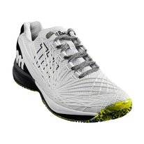 Tennisschuh Wilson Kaos 2.0 White Black Safety Yellow Herren
