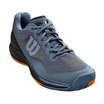 Tennisschoen Wilson Men Rush Pro 3.0 Flint Stone Black Mandarin