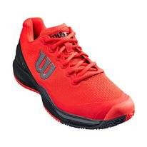 Tennisschuh Wilson Rush Pro 3.0 Poppy Red Black Ebony Herren