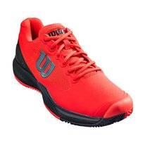 Tennisschuh Wilson Rush Pro 3.0 Clay Poppy Red Black Ebony Herren