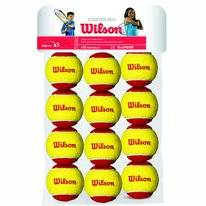 Tennisbal Wilson Starter Red Trainingsball Yellow Red (12-delig)