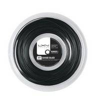 Tennissnaar Luxilon Savage 127 200M Reel Black
