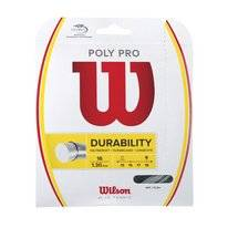 String Wilson Poly Pro 16 Set Silver