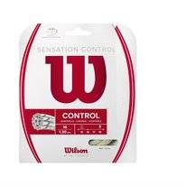 Tennissnaar Wilson Sensation Control 16 Natural 1,3mm/12m