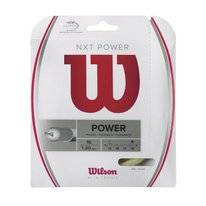 Tennissnaar Wilson NXT Power 16 Natural 1,3mm/12m