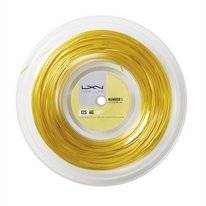 Tennissnaar Luxilon 4G Soft Gold 1,25mm/200m