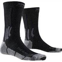Chaussettes de Randonnée X-Socks Men Trek Silver Black Grey