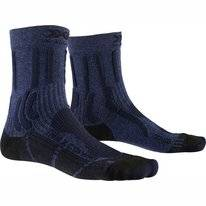 Wandelsok X-Socks Women Trek X CTN Blue Black