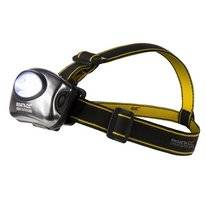 Kopflampe Regatta 5 LED Headtorch Black Sealgrey