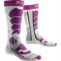 Chaussettes de ski X-Socks Control 2.0 Light Grey/Melange