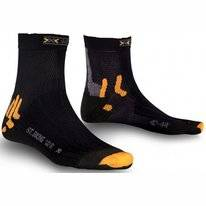 Chaussette de Cyclisme  X-Socks Street Biking Water Repellent Black