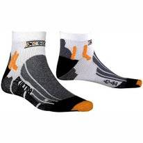 Chaussette de Cyclisme X-Socks Biking Ultralight White/Black