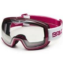 Skibril Briko Nyira 7.6 Matt White Violet Photochromic Grey