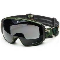 Skibrille Briko Nyira Free Fighter 7.6 Matt Green Camo Smoke Unisex