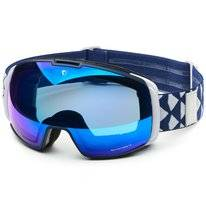 Skibrille Briko Nyira Free Fighter 7.6 Matt Dark Blue White Blue Mirror Unisex