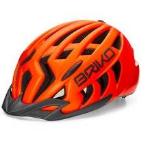 Fietshelm Briko Aries Sport Matt Orange Fluo