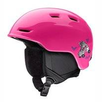 Skihelm Smith Junior Zoom Pink Skates