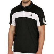 Tennispolo Adidas Men Response Black