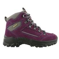 Walking Shoe Grisport Rocky Mid Purple Kids