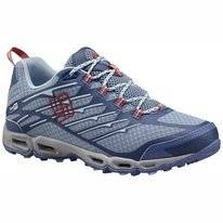 Trailrunning Schuhe Columbia Ventrailia II Outdry Dark Mirage Sunset Rot Damen