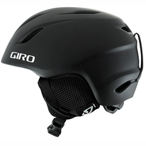 Skihelm Giro Launch Matte Black Kids