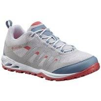 Trail Running Shoe Columbia Women's Vapor Vent White Wild Salmon