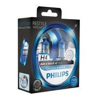 Autolampenset Philips ColorVision H4 Blue