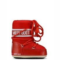 Moon Boot Enfant Rouge Mini