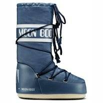 Moon Boot Unisex Nylon Denim Blue