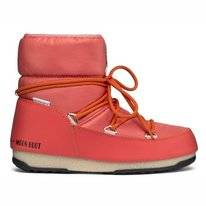 Moon Boot Women Low Nylon WP 2 Coral